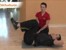 Ćwiczenie na dolne partie brzucha