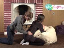 Zmniejszanie bólu porodowego - masaż pleców