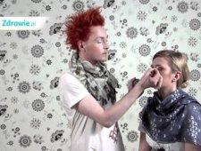 Makijaż dla blondynki – oczy