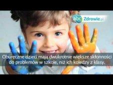 Fakty o zdrowiu - Oburęczne dzieci bardziej nadpobudliwe