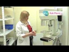 Przebieg badania mammograficznego