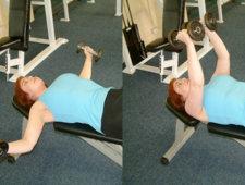 Ćwiczenia ujędrniające biust - zdjęcia