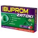 Ibuprom Zatoki (Ibuprofenum + Pseudoephedrini hydrochloridum)