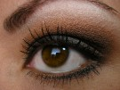 Makijaż oczu piwnych